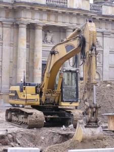 GPS tracking Excavator