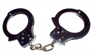 GPS tracking handcuffs