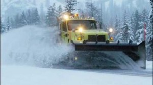 snow plow GPS