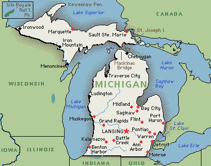gps tracking software michigan map
