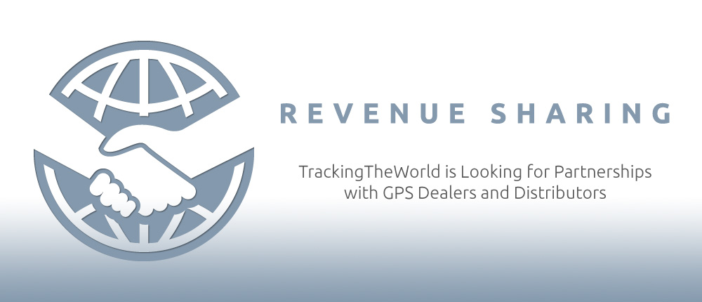 TrackingTheWorld is looking for partnerships with GPS dealers and distributors